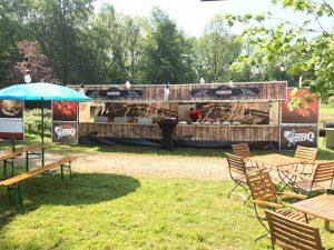 Food festival op een bedrijfsfeest
